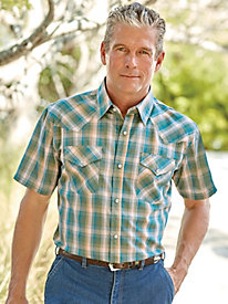 High Noon Short Sleeve Western Snap Shirts