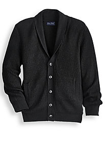John Blair Shaker Knit Cardigan Sweater