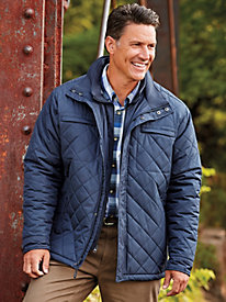 Coffee Creek Quilted Jacket