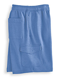 John Blair Fleece Cargo Shorts