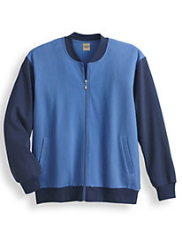 Rockabilly Men's Clothing Scandia Woods Two-Tone Fleece Jacket $5.97 AT vintagedancer.com