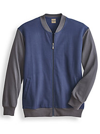 Scandia Woods Two-Tone Fleece Jacket