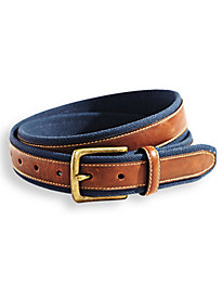 Scandia Woods Canvas Trim Belt by Blair