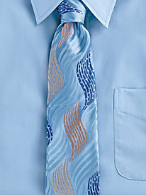 New 1940s Men's Ties, Neckties, Pocket Squares Irvine Park Silk Tie $19.99 AT vintagedancer.com
