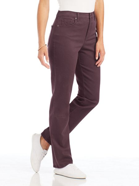 51f35ab653 Amanda Stretch-Fit Jeans by Gloria Vanderbilt | Blair