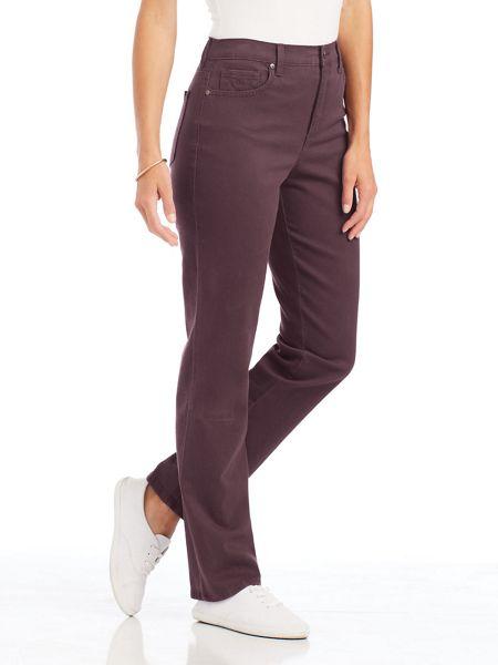 Amanda Stretch Fit Jeans By Gloria Vanderbilt Blair