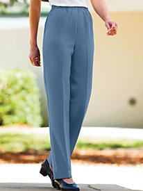 Polyester Plain-Weave Pants