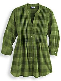 Flannel Check Big Shirt