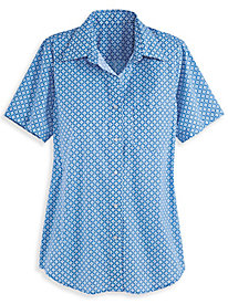 Wrinkle-Resistant Short Sleeve Shirt