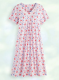 Print Knit Nightgown