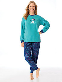 Novelty Appliqué Pajamas