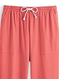 Knit Drawstring Sport Shorts