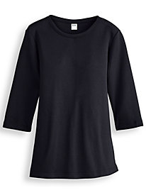 Fresh® Three-Quarter Sleeve Top