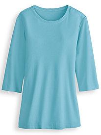 Fresh® Three-Quarter Sleeve Top