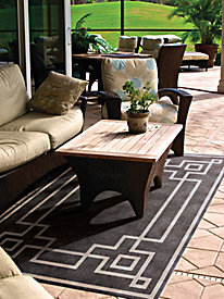 Geo Line Large Indoor-Outdoor Rugs