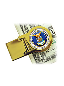 Air Force Quarter Money Clip