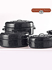 Granite Ware® Oval Covered Roasters