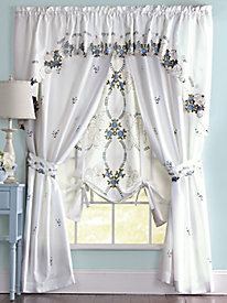 Verona Embroidered Curtains