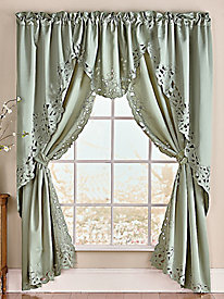 Bella Embroidered Curtains