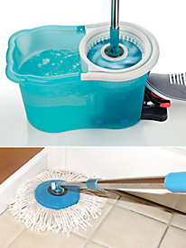 Hurricane� Spin� Mop and Replacement Head