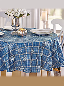 Draped Style Vinyl Table Cover