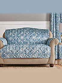 Diana Damask Furniture Protector and Draperies
