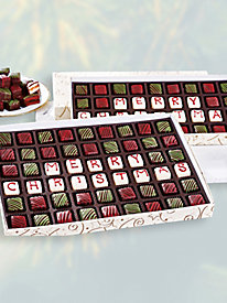 Merry Christmas Petit Fours