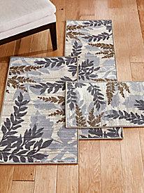 Grammercy Leaf Pattern Rug