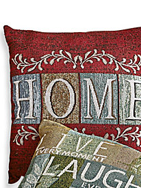 Every Day Tapestry Pillow