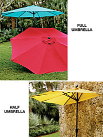 Steel Market Umbrellas