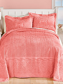Clamshell Chenille Bedspread