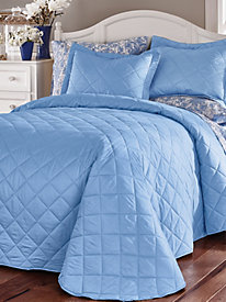 180-TC Fully Quilted Bedspread and Coordinates