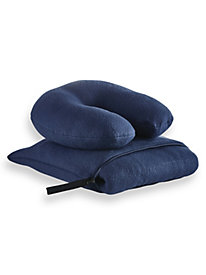 3-Pc. Travel Throw/Pillow Set