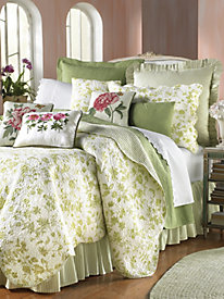 Brighton Toile Coverlet, Shams & Pillows by Williamsburg&#174