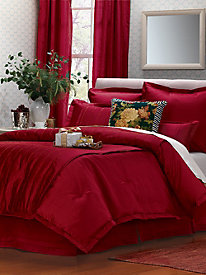 Braxton Comforter Set, Shams & Window Panels