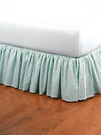 By the Sea Bedskirt 15'' Drop