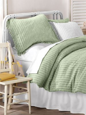 Chic Chenille Duvet Cover | linensource