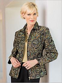 Paisley Brocade Jacket...