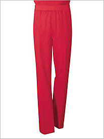 Whisper Wave Pull-on Pants by Brownstone Studio; 8777054