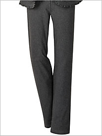 Comfort Knit Denim Pull-on Pants