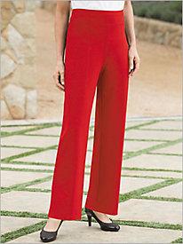 Slimtacular® Ponte Knit Straight Leg Pull-on Pants