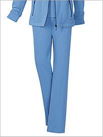 Studio Flatback Rib Knit Pull-on Pants by D&D Lifestyle?