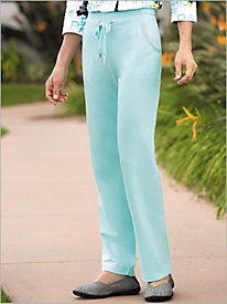 City Of Dreams French Terry Knit Pants by D & D Lifestyle 9041432