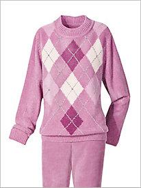 Diamond Chenille Sweater