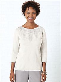 Chandelier Chic Sweater