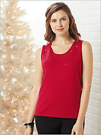 Sparkle Sweater Tank