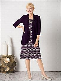 Crochet Looking Jacket Dress