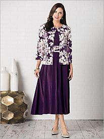 Provence Print Jacket Dress