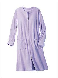 Fleece Knee Length Robe
