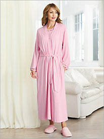 Cotton Modal Tie Front Robe
